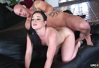 Insatiable brunette with tiny tits, Amy Starz g