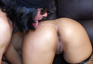 Two amateur dudes lick increased by fuck street grumble Gabriela Castellari