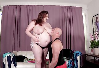 Nasty man with a large dick fucks his BBW lover Shanelle Savage