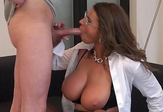 Affectionate secretary