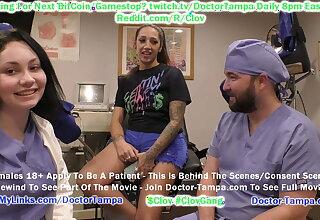 $CLOV Doctor Tampa Observes Nurse Lenna Lux 4 Her Mischievous Day!