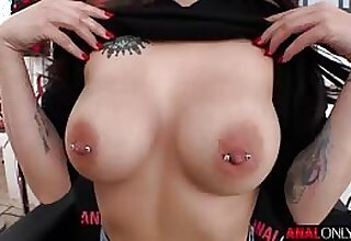 Maddy May big natural tits on show as A she is ass fucked