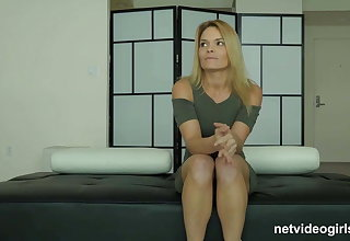 MILF surprised during shoot with a younger girl!