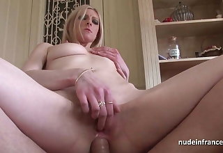 Stunning french blonde hard anal pounded