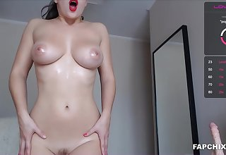 Busty Tits Whore Plays And Squirts