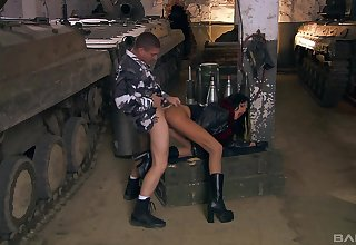 Persuasiveness man fucks naked whore in smutty modes