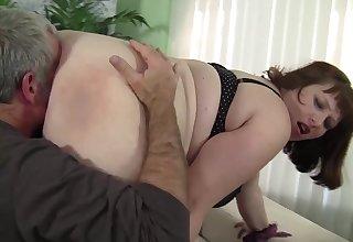 Impound Dad Eats Huge Ass