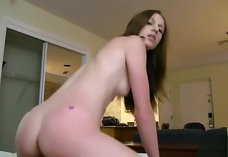 Awesome skinny young skirt Kali Kenzington having a hard core fuck