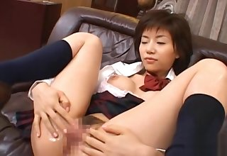 Whore Beautiful Cutie Goes Be required of A Large Rod