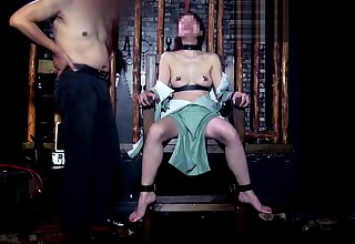 Asian Knockout in BDSM Dungeon