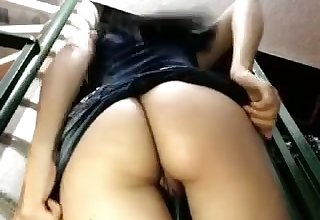 This Latina slut cums faster with a dildo in her ass and I love her big tits