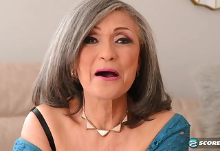 Kokie Del Coco - grey grandma pounded by muscled stud with big cock j-mac