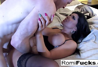 Nurse Romi answers Brick's prayers with anal sex!