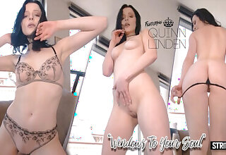 Quinn Lindemann in Windows to your Soul - StripzVR