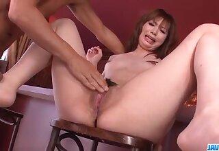 Mami Yuuki loves to feel cock inside her overgrown twat - More at javhd.net